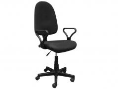 Кресло офисное Prestige Lux gtpPN S11 ткань черная