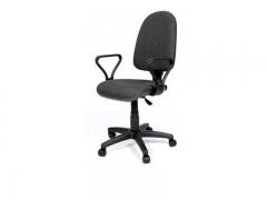 Кресло офисное Prestige Lux gtpPN S38 ткань серая