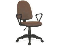 Кресло офисное Prestige Lux gtpPN S9 ткань коричневая