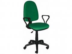 Кресло офисное Престиж Люкс gtpPN S34 ткань зеленая