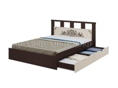 Кровать 1,6 с ящиком Жасмин