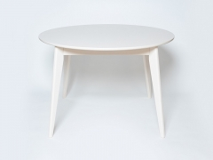 Стол обеденный раздвижной Орион плюс 1150 Белая эмаль